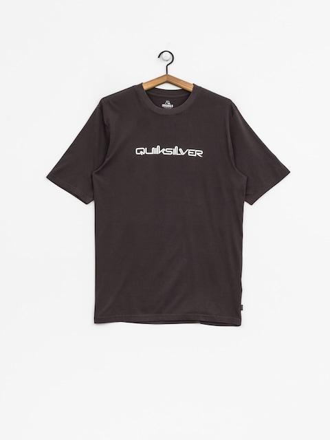 Quiksilver T-Shirt Original Quik Col (tarmac)