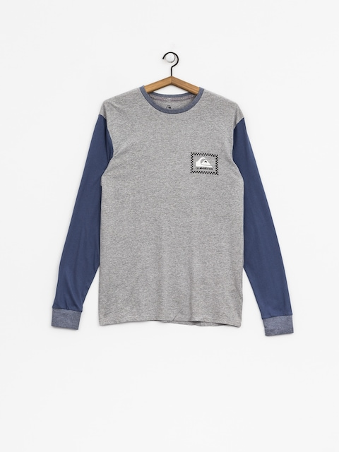 Quiksilver Longsleeve Night Crews (light grey heather)