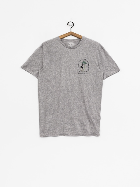 Quiksilver T-Shirt Glady Our E Back (sleet heather)