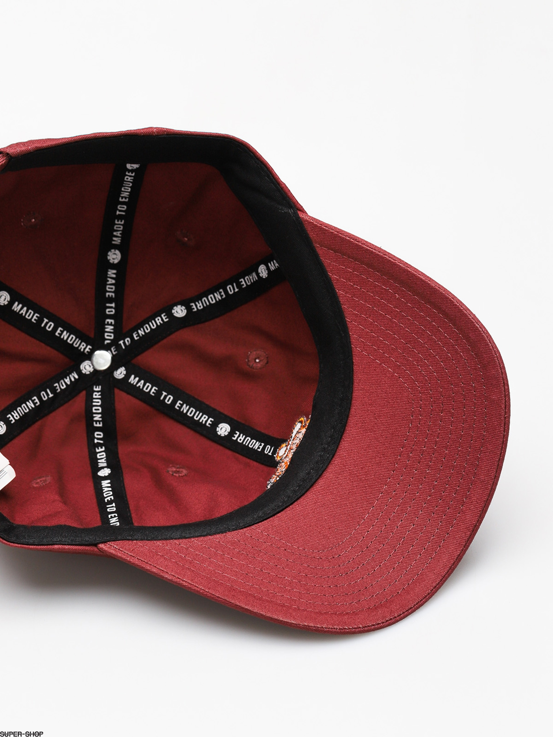 Element Cap Fluky Dad Zd Oxblood Red