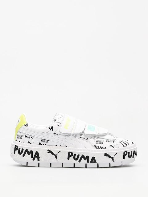Puma Schuhe Platform Trace Strap x SHANTELL MARTIN Wmn (puma white/puma)