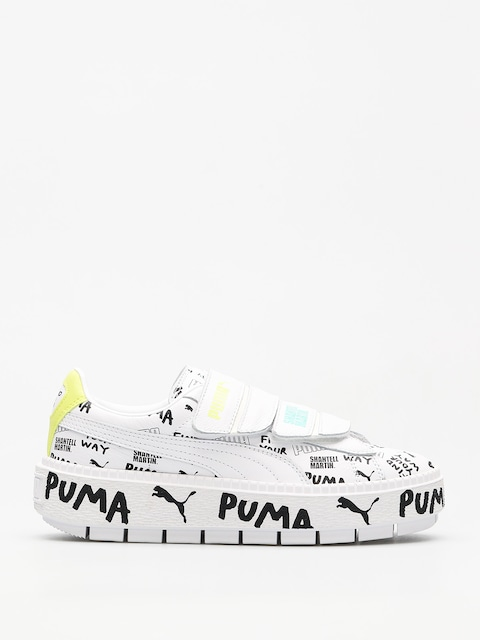 Puma Shoes Platform Trace Strap x SHANTELL MARTIN Wmn (puma white/puma)