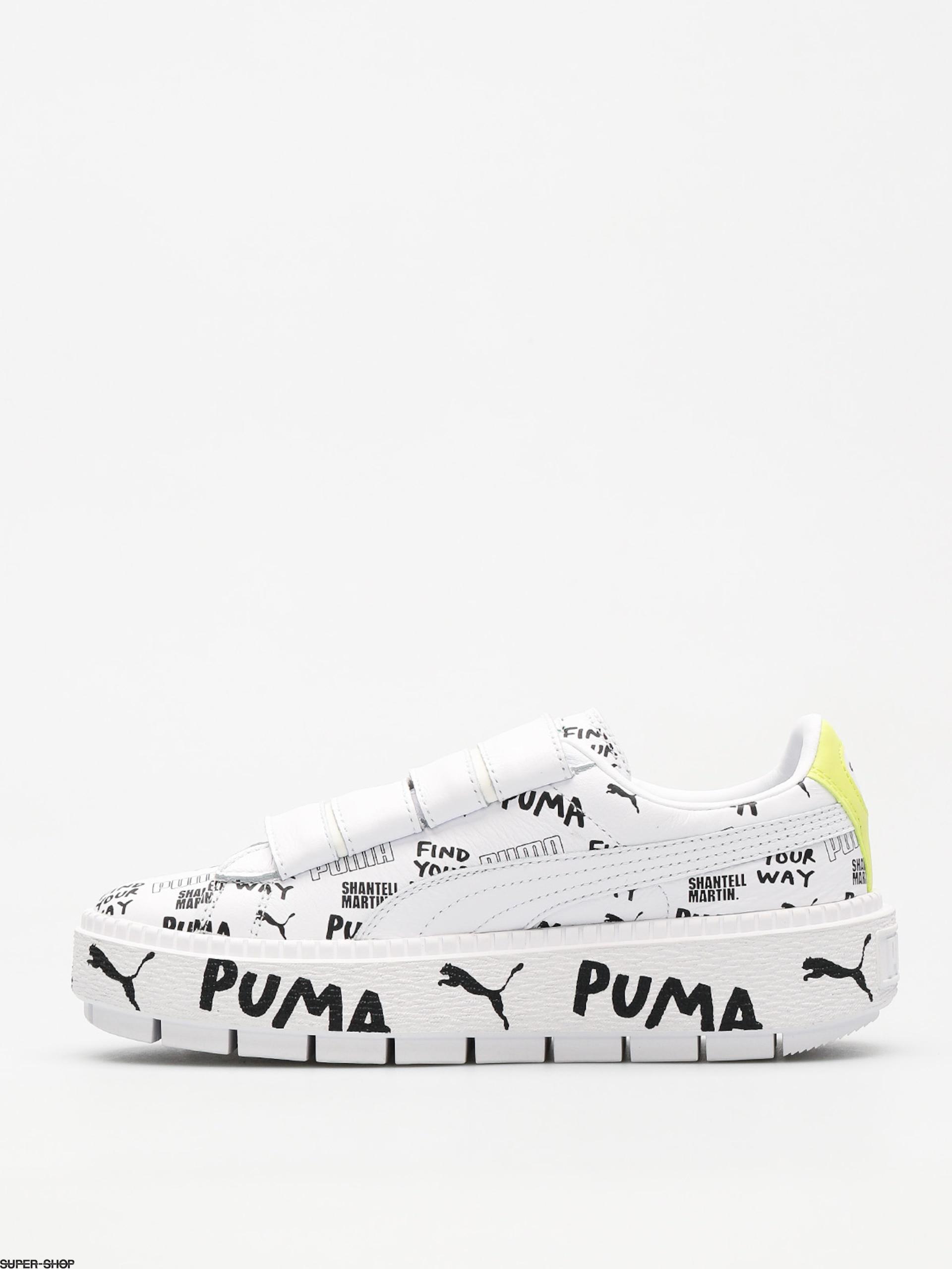 Puma Shoes Platform Trace Strap x SHANTELL MARTIN Wmn (puma whitepuma)