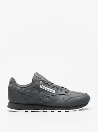 Reebok Shoes Cl Leather Mu (mc stealth/banana/white)