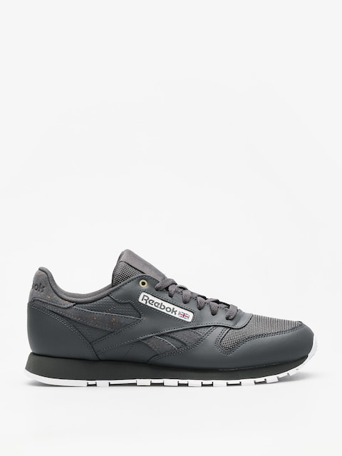 Reebok Shoes Cl Leather Mu (mc stealth/banana/white)