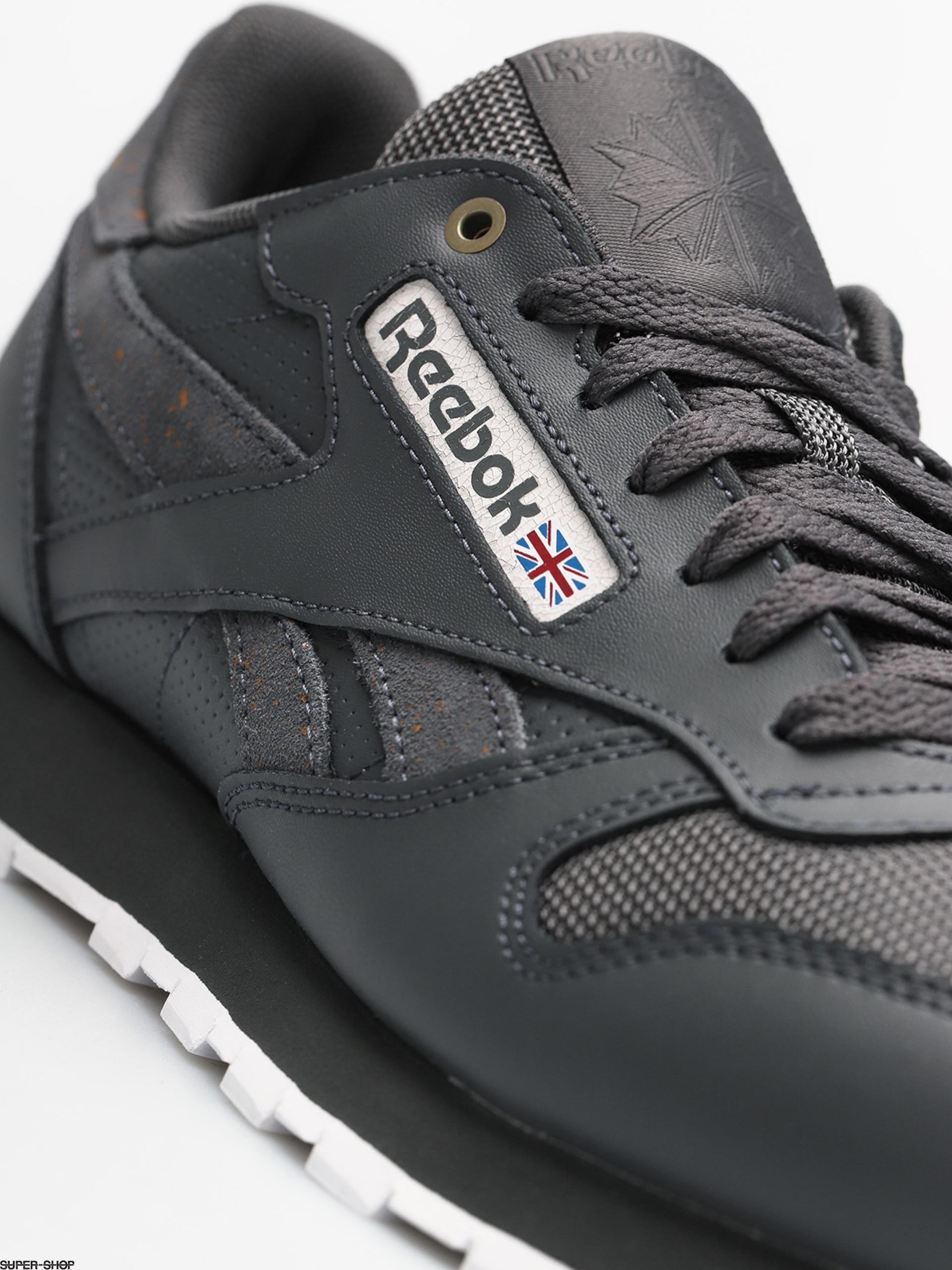 Reebok Shoes Cl Leather Mu (mc stealthbananawhite)