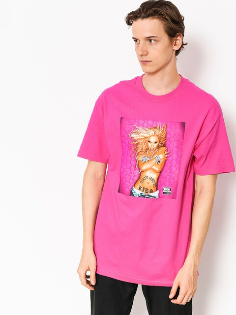 DGK T-shirt Queen B (hot pink)
