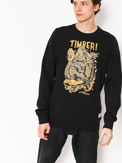 Element Sweatshirt Joyride Crew (flint black)