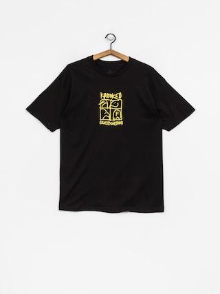 Krooked T-shirt Kd Ultra (black/yellow)