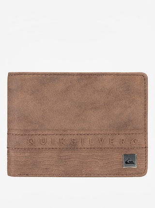 Quiksilver Wallet Every Day Stripe 3 (chocolate)