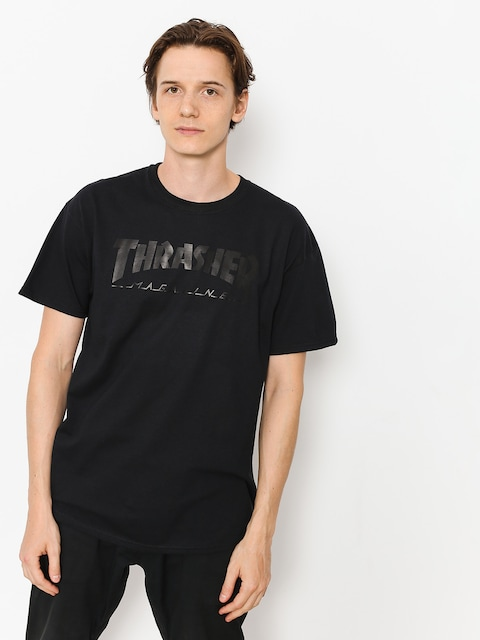 Thrasher T-Shirt Magazine Logo (black)