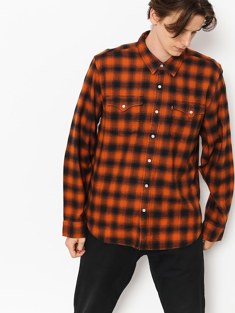 Levi's Hemd Western Shirt (nilgai bombay brown)