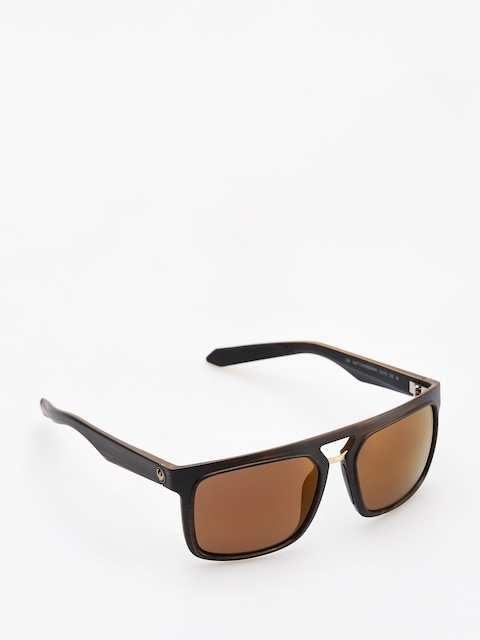 Dragon Sunglasses Aflect (matte woodgrain/copper ion)