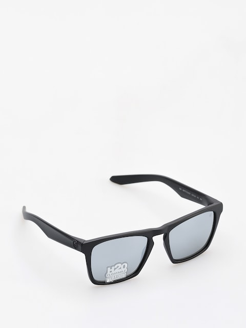 Dragon Sunglasses Drac (matte black h20/silver ion performance polar)