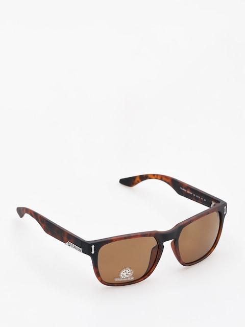 Dragon Sunglasses Monarch (matte tortoise/bronze performance polar)