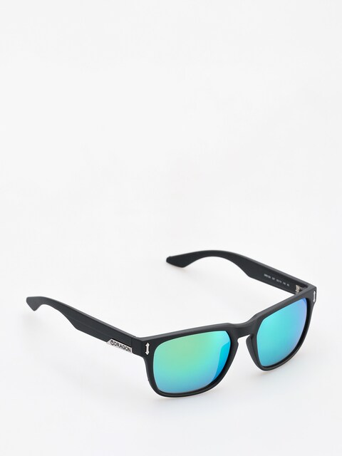 Dragon Sonnenbrille Monarch (matte black/green ion)