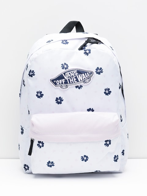 Vans Backpack Realm Wmn (white abstract daisy)