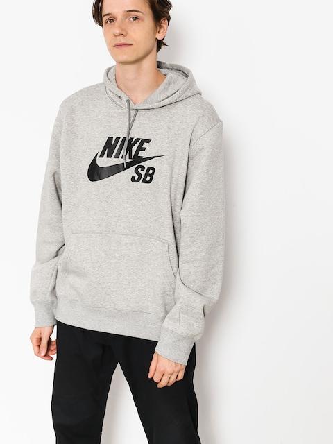Nike SB Hoody Sb Icon HD (dk grey heather/black)