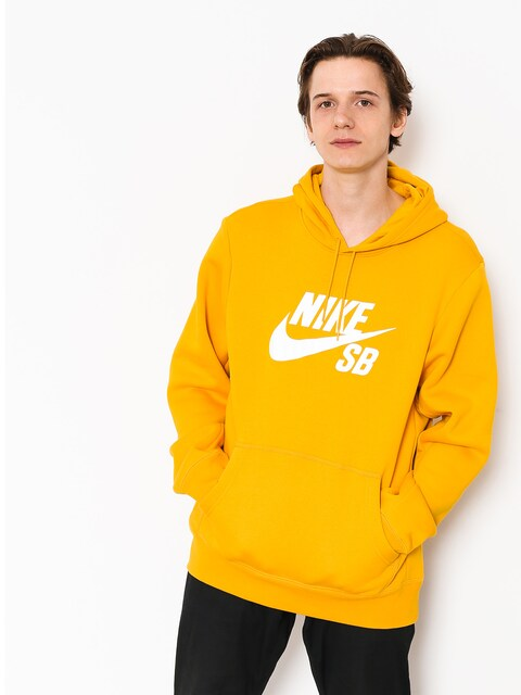 Nike SB Hoodie Sb Icon HD (yellow ochre/white)