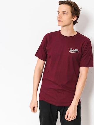 Brixton T-Shirt Hammond (burgundy)