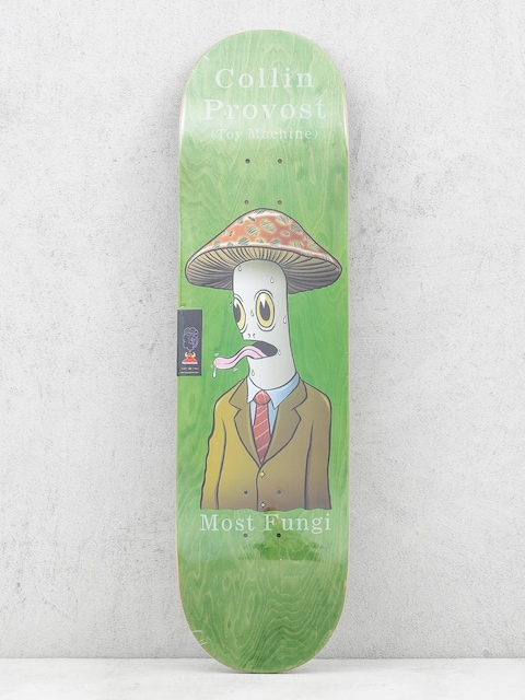 Toy Machine Deck Provost Fungi (green)