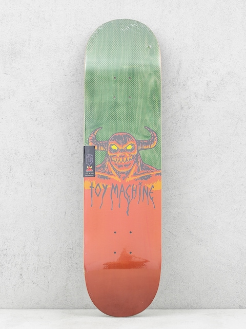 Toy Machine Deck Hell Monster (green/orange)
