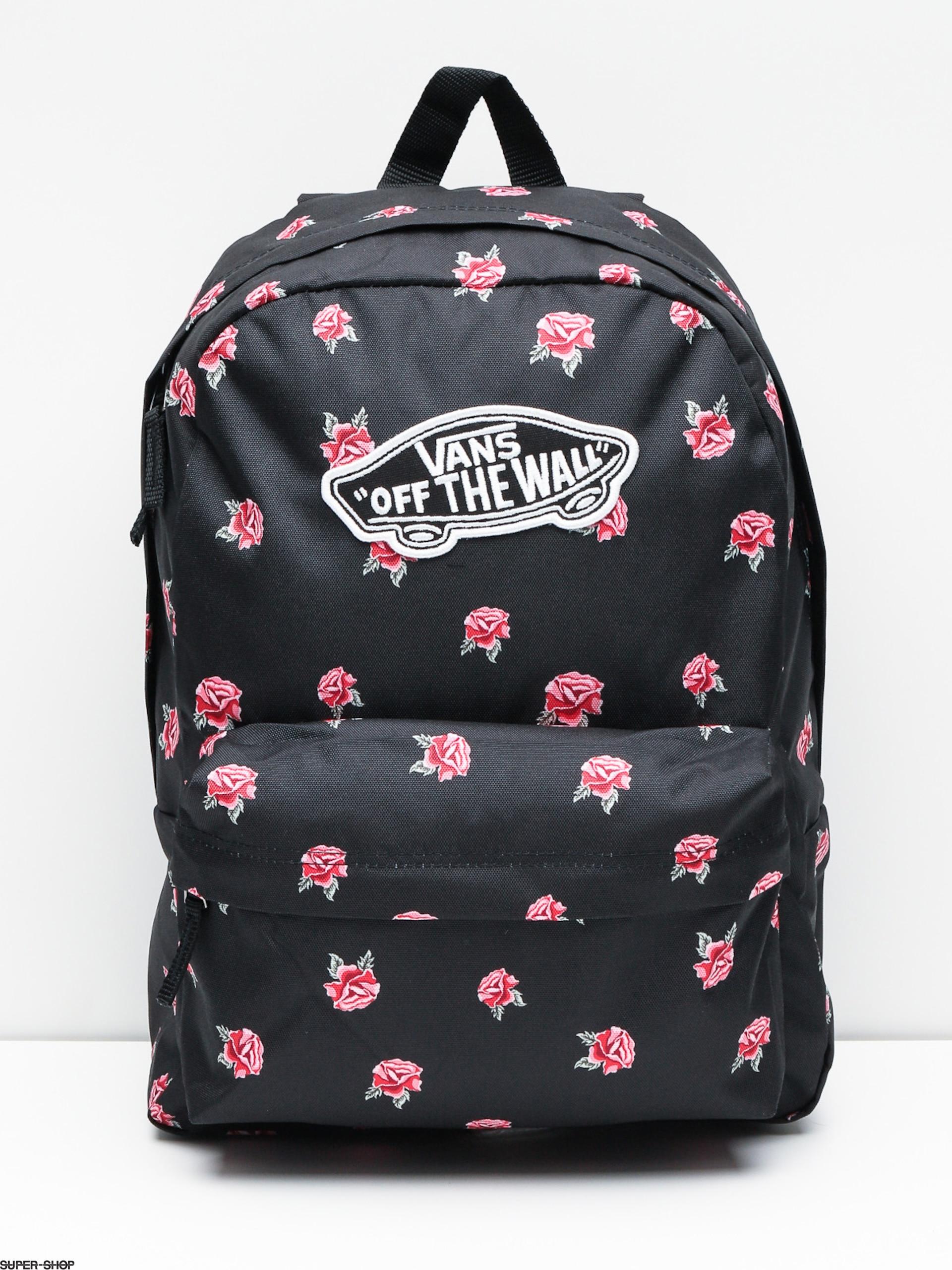 Vans Backpack Realm Wmn (black rose)