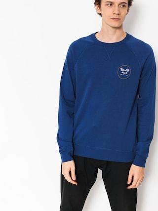 Brixton Sweatshirt Wheeler III Eu Crew (deep blue)