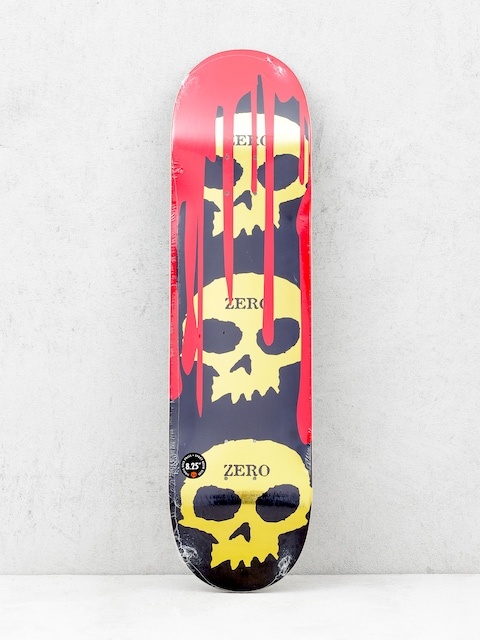 Zero Deck 3 Skull Blood (black/gold)
