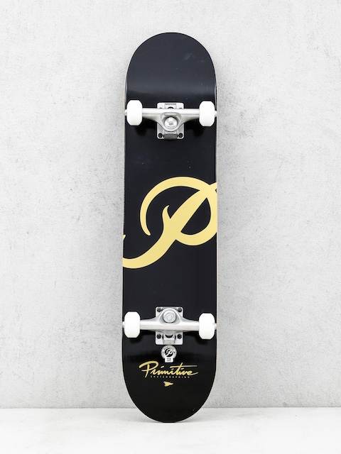 Primitive Skateboard Classic P (black/gold)