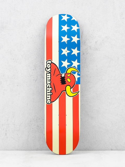 Toy Machine Deck American Monster (white/red/blue)