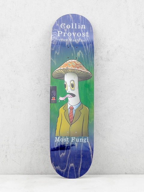 Toy Machine Deck Provost Fungi (navy/green)