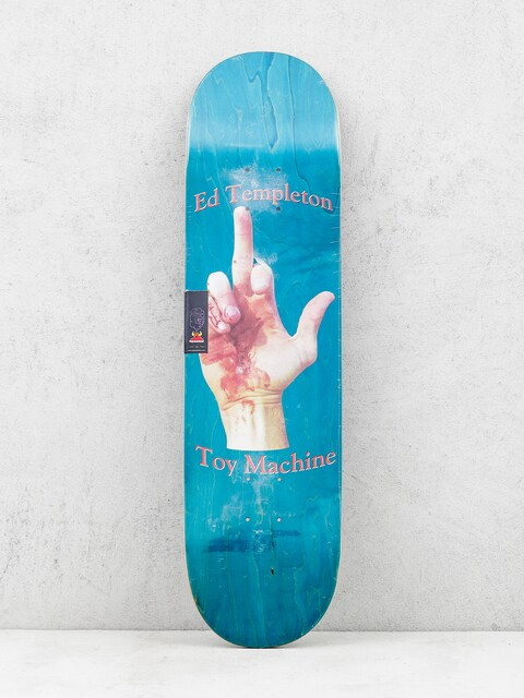 Toy Machine Deck Templeton Flip (teal)
