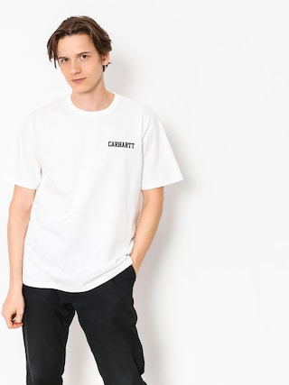 Carhartt WIP T-Shirt College Script (white)