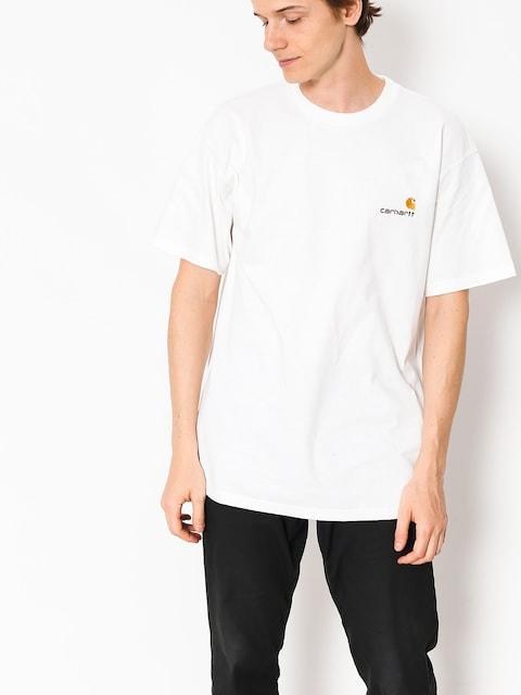 Carhartt WIP T-shirt American Script (white)