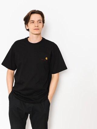 Carhartt WIP T-shirt American Script (black)