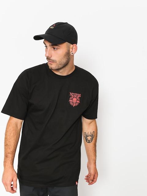 Spitfire T-Shirt Nocturnus (black/red)