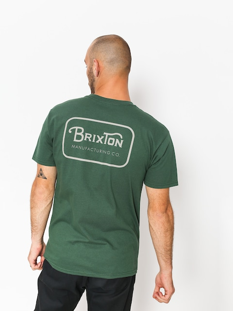 Brixton T-shirt Grade Stt (forest green)
