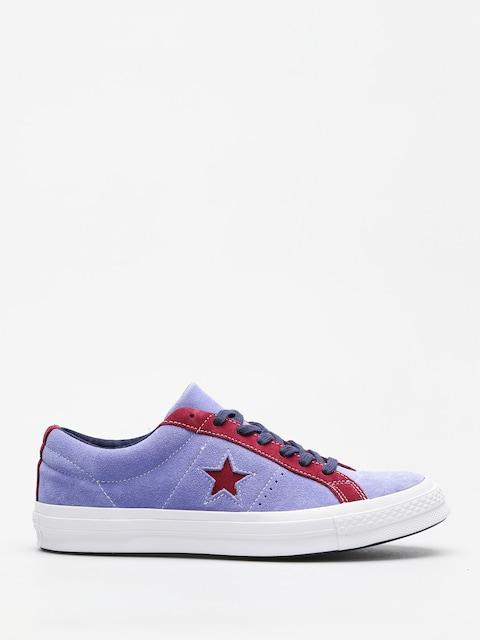 Converse Chucks One Star Ox (deep periwinkle/rhododenron)