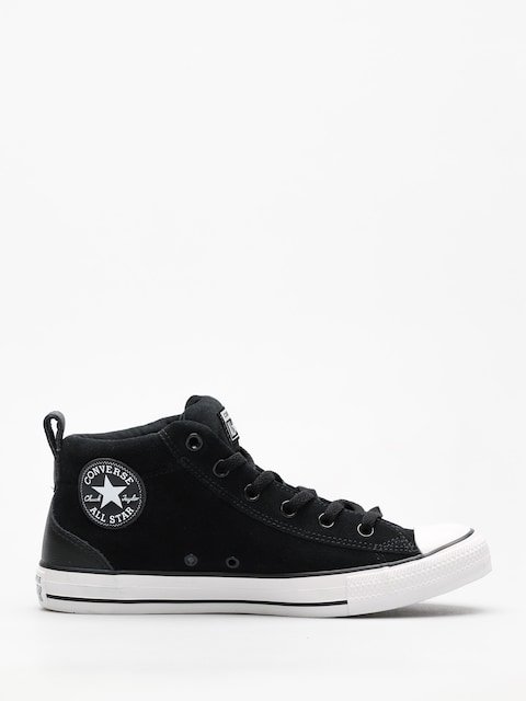 Converse Chucks Chuck Taylor All Star Street Ox (black/black/white)