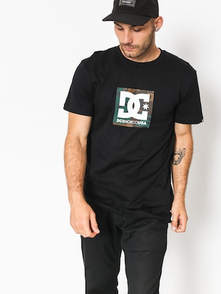 DC T-shirt Camo Boxing (black)