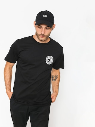 DC T-shirt Circle Star Fb (black)
