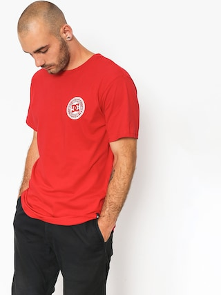 DC T-shirt Circle Star Fb (tango red)