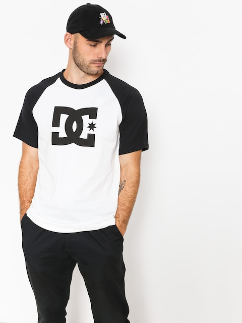 DC T-Shirt Star Raglan (black/snow white)