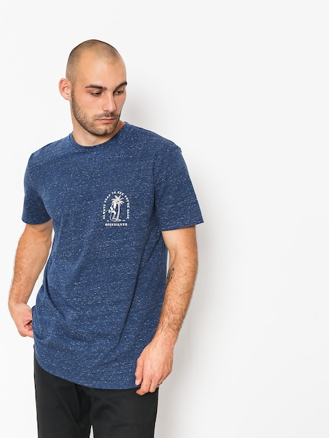 Quiksilver T-shirt Glady Our E Back (medieval blue heathe)