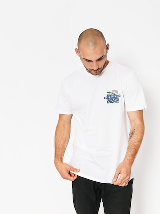 Quiksilver T-Shirt Tropic Erupt (white)