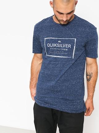 Quiksilver T-shirt Quik In The Box (medieval blue heathe)