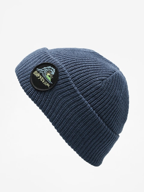 Quiksilver Beanie Performed Patch 2 Beanie (dark denim)
