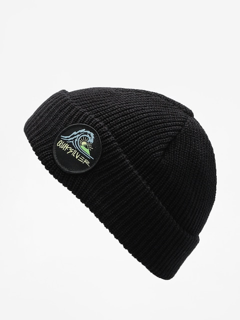 Quiksilver Mütze Performed Patch 2 Beanie (black)