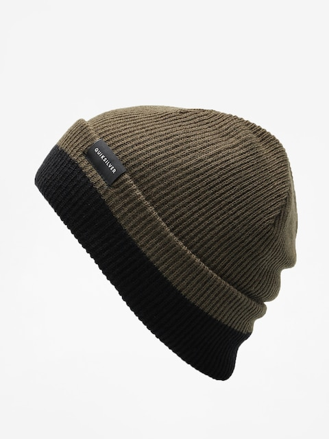 Quiksilver Beanie Performed Color Block 2 Beanie (forest night)